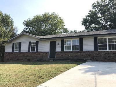 Knoxville Single Family Home For Sale: 6400 Chevas Circle