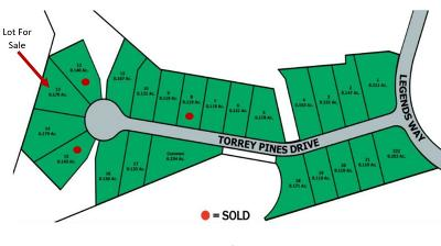 Blount County Residential Lots & Land For Sale: 2325 Torrey Pines Drive