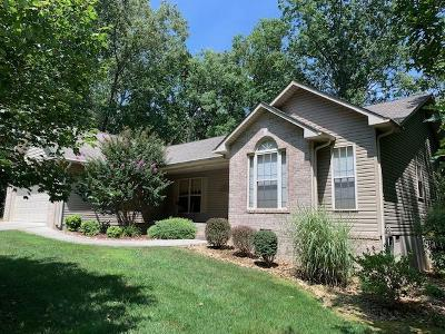 Crossville TN Single Family Home For Sale: $194,900