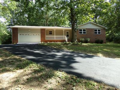 Crossville Single Family Home For Sale: 270 Hickory Hollow Drive