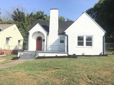 Knoxville Single Family Home For Sale: 2554 Linden Ave