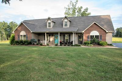 Crossville Single Family Home For Sale: 1348 Ernest Neal Rd
