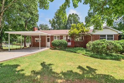 Knoxville Single Family Home For Sale: 3208 SW Valley Forge Drive