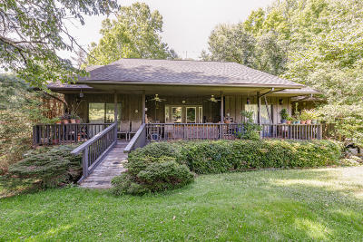 Gatlinburg Single Family Home For Sale: 139 Martha McCarter Rd