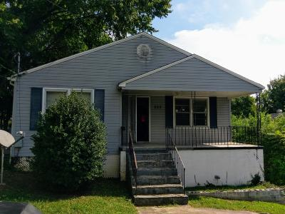 Knoxville Single Family Home For Sale: 222 N Park St