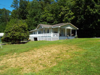 Cocke County Single Family Home For Sale: 140 Giles Road