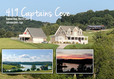Sharps Chapel Single Family Home For Sale: 419 Captains Cove