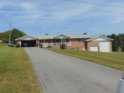 Tazewell Single Family Home For Sale: 976 Coleman Rd.