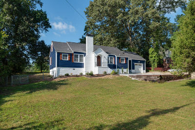 Knoxville Single Family Home For Sale: 5709 Chapman Hwy