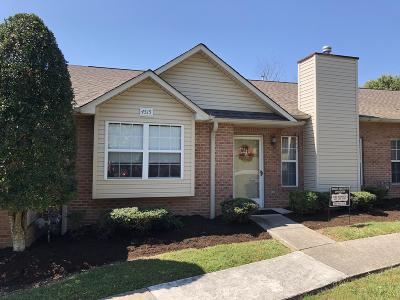 Knoxville TN Condo/Townhouse For Sale: $173,500
