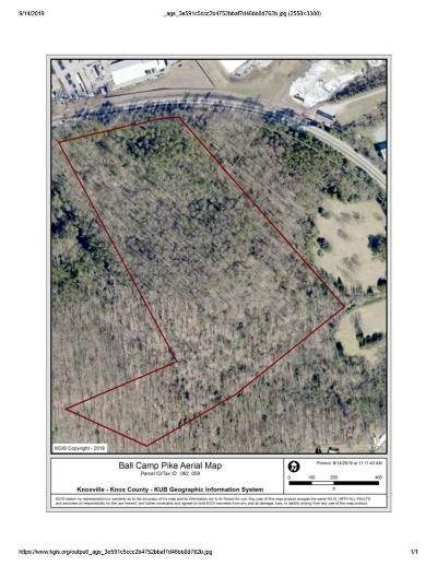 Knoxville Residential Lots & Land For Sale: Ball Camp Pike Pike