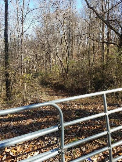 Claiborne County Residential Lots & Land For Sale: 37.53 Acre Cupp Ridge Rd