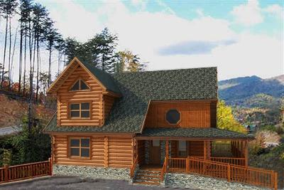 Sevierville Single Family Home For Sale: Lot 109r Bear Creek Falls