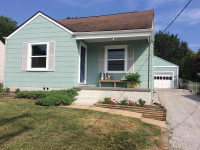 Knoxville TN Single Family Home Sold: $102,000