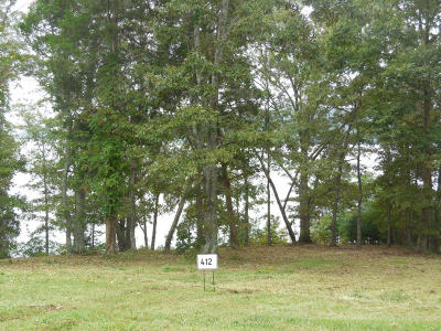 Meigs County, Rhea County, Roane County Residential Lots & Land For Sale: Thief Neck View Pointe Lot 412