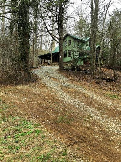 Tellico Plains Single Family Home For Sale: 1715 Cane Creek Mountain Rd