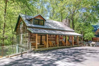 Gatlinburg Single Family Home For Sale: 1329 N Baden Drive