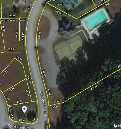 Anderson County Residential Lots & Land For Sale: 10 Royal Troon Circle