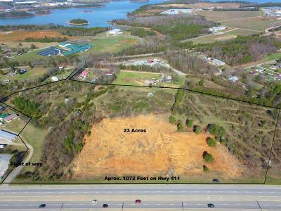 Commercial For Sale: Hwy 411 22 Ac