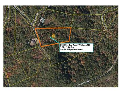 Residential Lots & Land Sold: 2135 Sky Top Rd