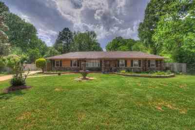 Memphis Single Family Home For Sale: 245 S Mendenhall
