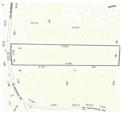 Bartlett Residential Lots & Land For Sale: 7319 Old Brownsville
