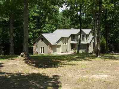 Pickwick Dam Single Family Home For Sale: 1065 Caney Hollow