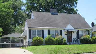 Cooper, Cooper Young Single Family Home For Sale: 2275 York