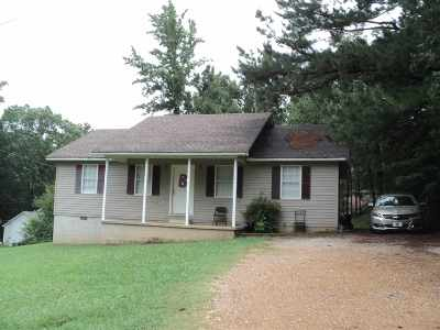 Selmer Single Family Home For Sale: 141 Hideaway