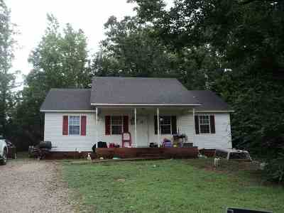 Selmer Single Family Home For Sale: 135 Hideaway