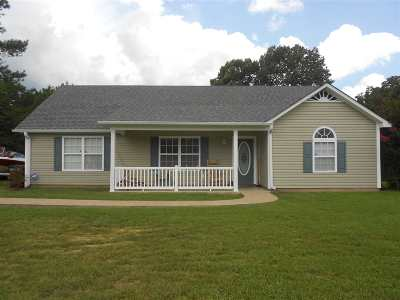 Selmer Single Family Home For Sale: 1071 Brooks