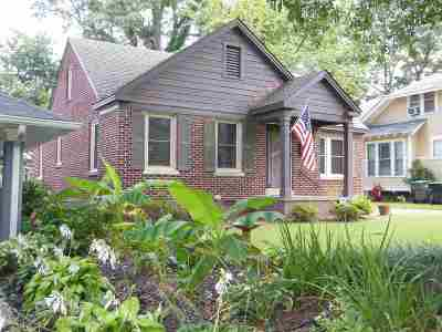 Cooper, Cooper Young Single Family Home For Sale: 1878 Oliver