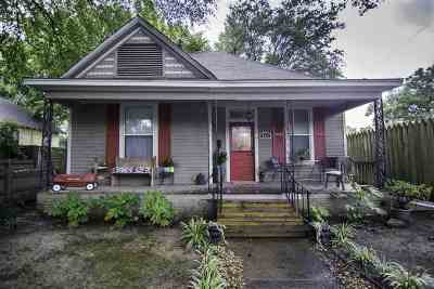 Cooper, Cooper Young Single Family Home For Sale: 965 S Cox