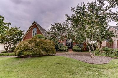 Collierville Single Family Home For Sale: 1160 Stanton Hall