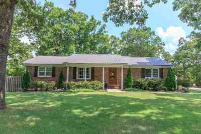 Selmer Single Family Home For Sale: 122 Treece