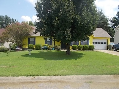 Tipton County Single Family Home For Sale: 900 Travis