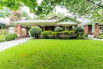 Cooper, Cooper Young Single Family Home For Sale: 2018 Oliver