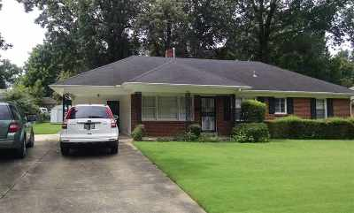 Memphis Single Family Home For Sale: 4973 Dee