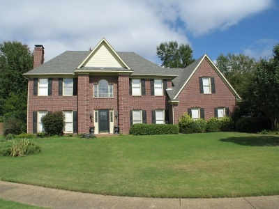 Collierville Single Family Home For Sale: 664 Brookmere