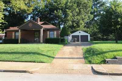Memphis Single Family Home For Sale: 2762 Garden