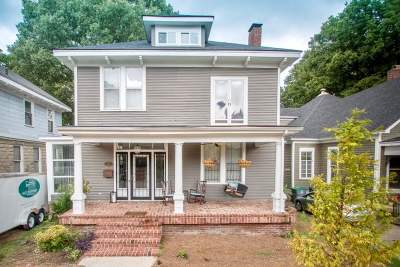 Memphis Single Family Home For Sale: 1560 Linden