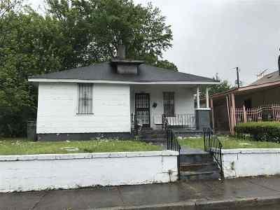 Memphis Single Family Home For Sale: 1650 Carnegie