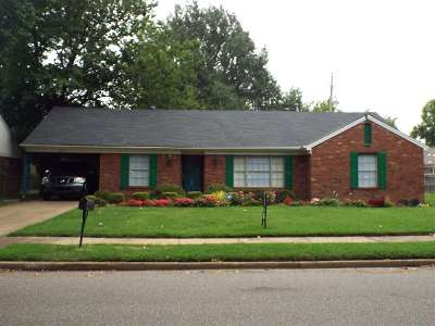Memphis Single Family Home For Sale: 2900 Curtis