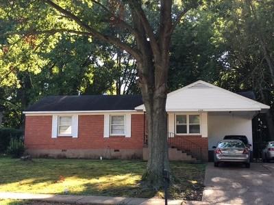 Memphis Single Family Home For Sale: 3726 N Trezevant