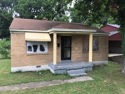 Memphis Single Family Home For Sale: 276 W Frank