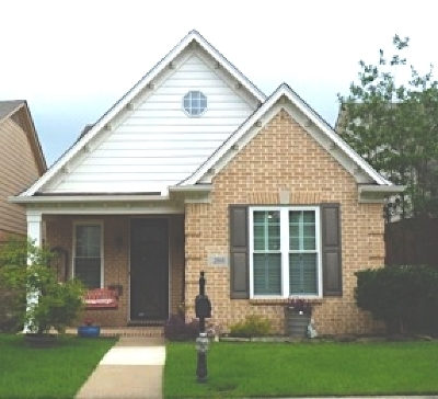 Memphis Single Family Home For Sale: 288 Fountain Crest