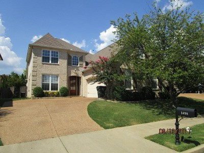 Collierville Single Family Home For Sale: 1498 Turtle Creek