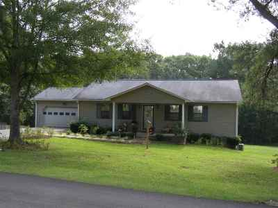 Selmer Single Family Home For Sale: 1213 Circle Hill