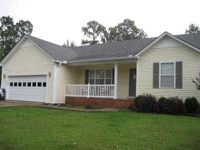 Selmer Single Family Home For Sale: 240 Amelia Breann