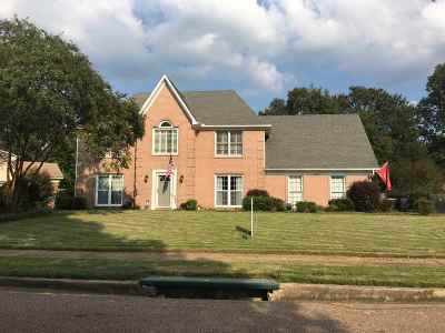 Collierville Single Family Home For Sale: 2820 Fairway Glen